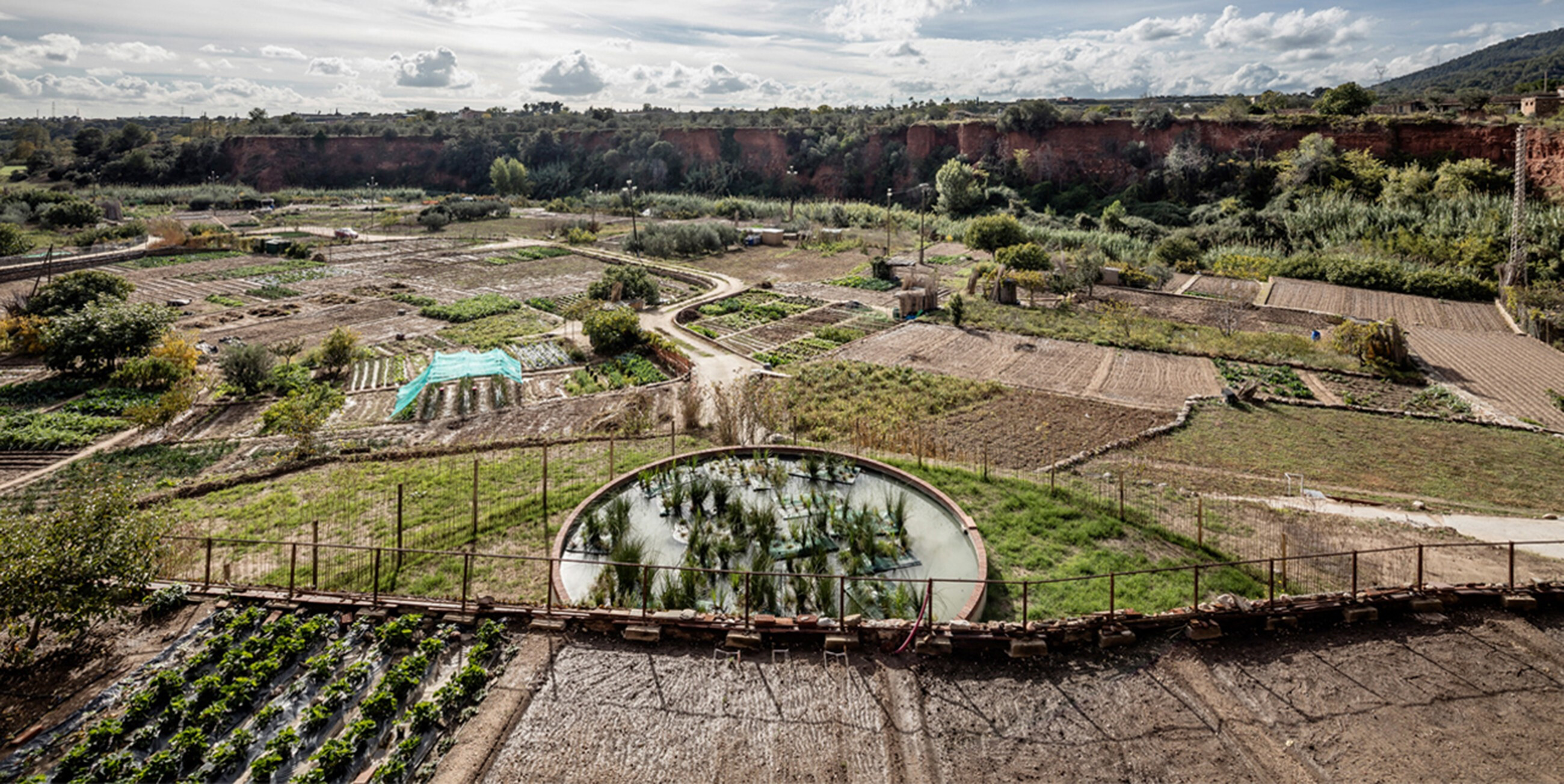 Recovery of the irrigation system at the thermal orchards
