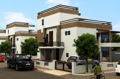 3d architecture models in  3ds max