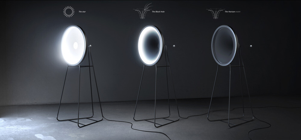 The Black Hole Lamp