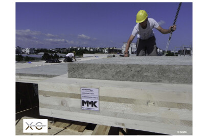 XC wood-concrete-composite slabs