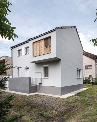 House expansion in Zugló, Budapest
