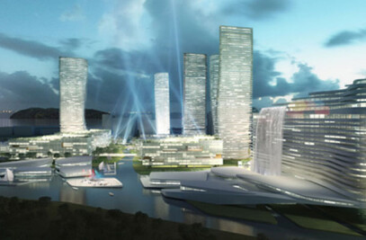 WUXI MASTERPLAN: MIXED USE COMPLEX