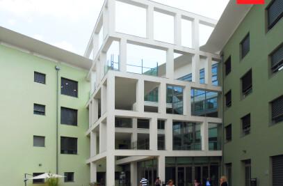 ERGON® Community: porte rototraslanti per l'Ospedale RSA Il Trifoglio di Torino