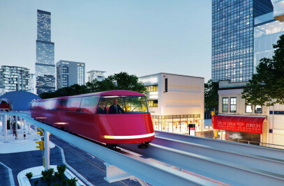 ULTRA LIGHT RAIL CONCEPT IN NORWAY