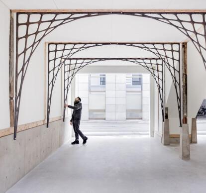 "Renovation of ""Kanban-Style"" building"