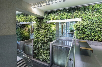 Edmonton Federal Building Living Wall Biofilter