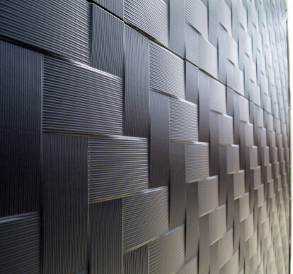 CUSTOMIZED 3D TEXTURE PANELS FOR FACADES