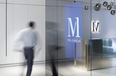 Millenium lobby and reception