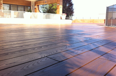 CFP Cladding & Decking - Thermal Decking
