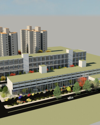 Residencial and comercial complex