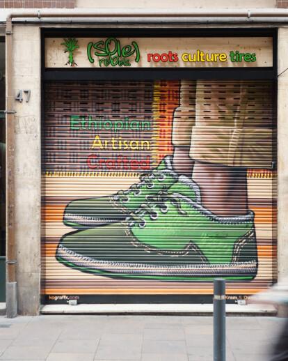 SoleRebels ethiopian Shoe Store in Gracia
