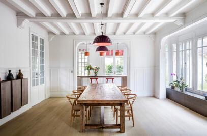 Maison à colombages avec 4 alcòves