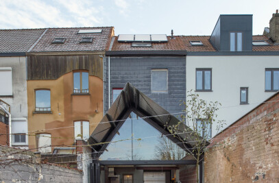 House extension Ghent
