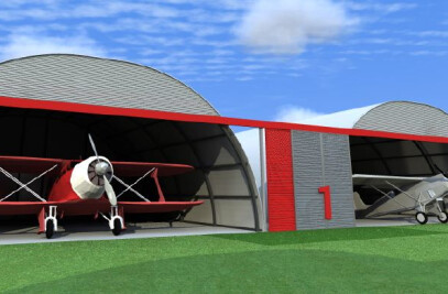 Ultra Light Airplane Hangars