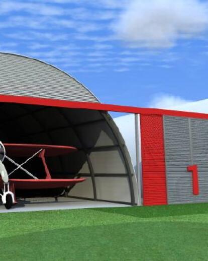 Ultra Light Airplane Hangars