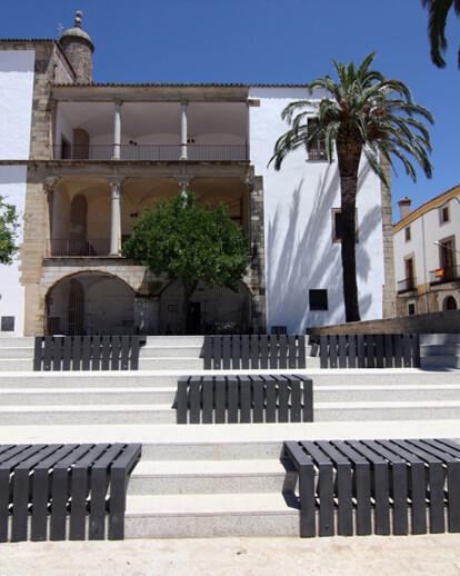 Garden of the Palace Juan Pizarro de Aragón