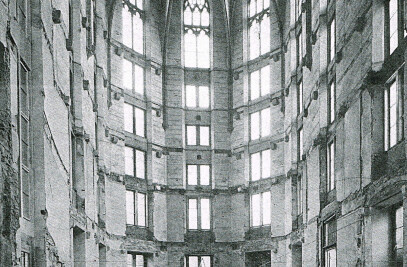 Conversion of the Predigerchor Zentralbibliothek