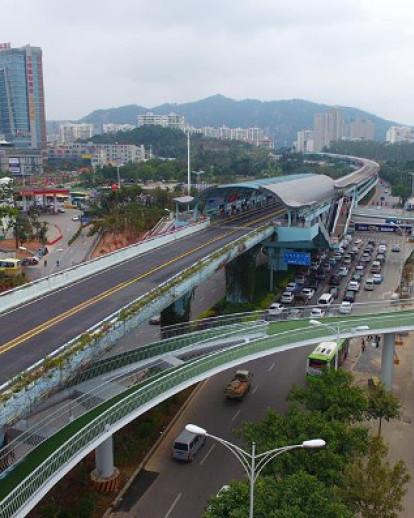 Xiamen Bicycle Skyway