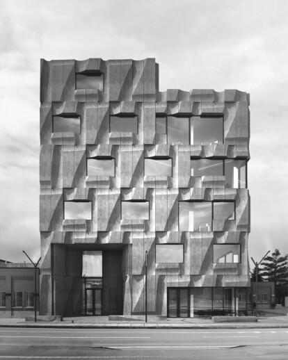 The Precast Concrete Building in Toronto
