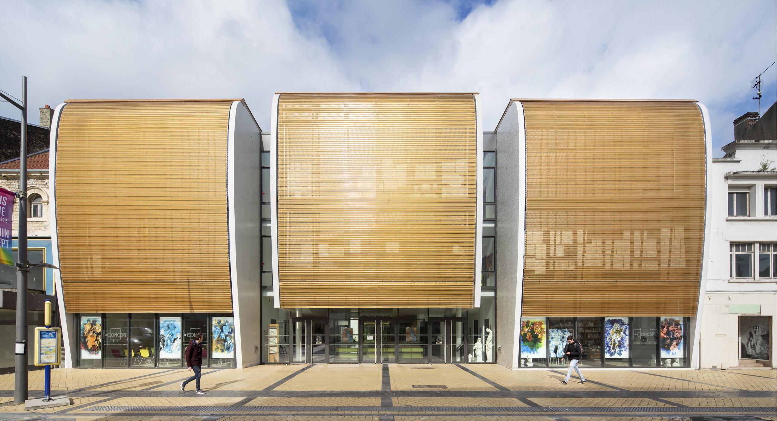 School of Arts in Calais