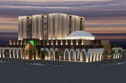 Beyt Al Zahra Religious Complex, (Ghamkhar Architecture Group)