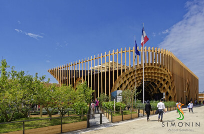 French Pavilion - Universal Exhibition - Milan 2015