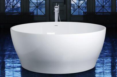 CUP Round Freestanding Bathtub