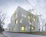 Metal mesh facades