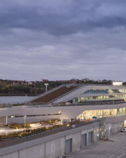 Värtaterminalen, Ferry Terminal, Stockholm