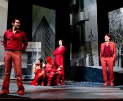 Alvisi Kirimoto + Partners - Scenic design for the play Cavalleria Rusticana