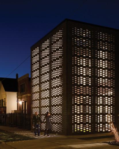 Brick Weave House