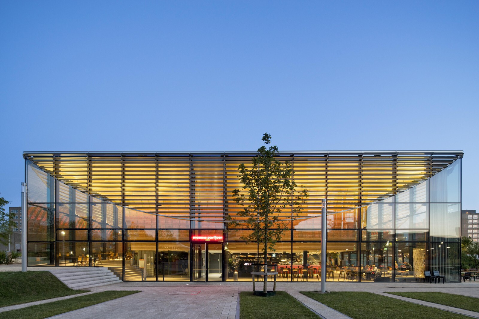 Rotterdam Erasmus Pavilion