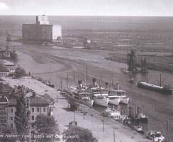 grain silo Ewa in 1936