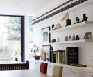 Shelving To The Living/Dining Room