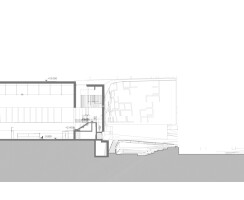 Sports Complex Project - Section Drawing
