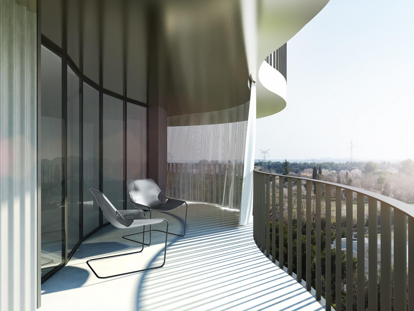 Farshid Moussavi Architecture Wins Jardins De La Lironde