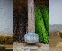 Pillars of Hmong House