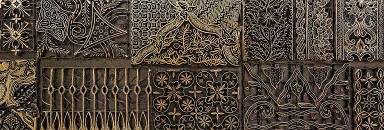 Batik Stamp Detail