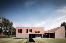 Two-storey house in rural Belgium