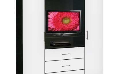 Aventa TV Armoire White Gloss