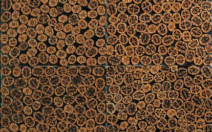 Floresta Wood - Sawtooth Carved