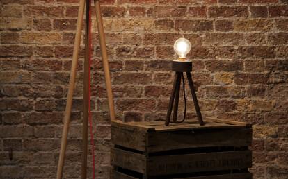 Little Walnut Lamp