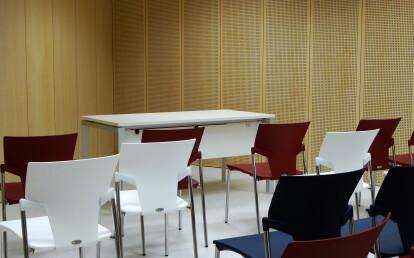 Decustik perforated acoustic panels in wood