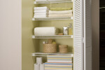 Organized Living Lifetime Ventilated | White