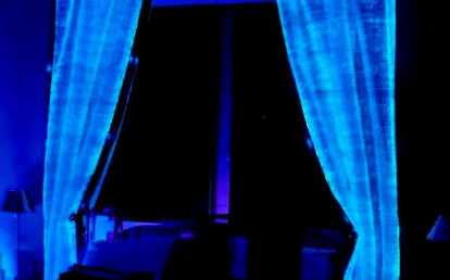 fiber optics curtains