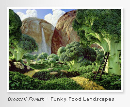 Broccoli Forest - Funky Foodscapes