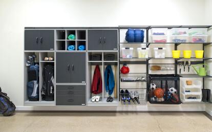 Organized Living freedomRail Garage