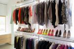 Modern walk-in wardrobe