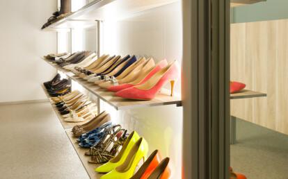 Modular shoe storage