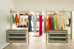 designer walk-in closet
